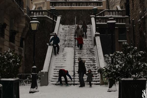 Escalier Blanc