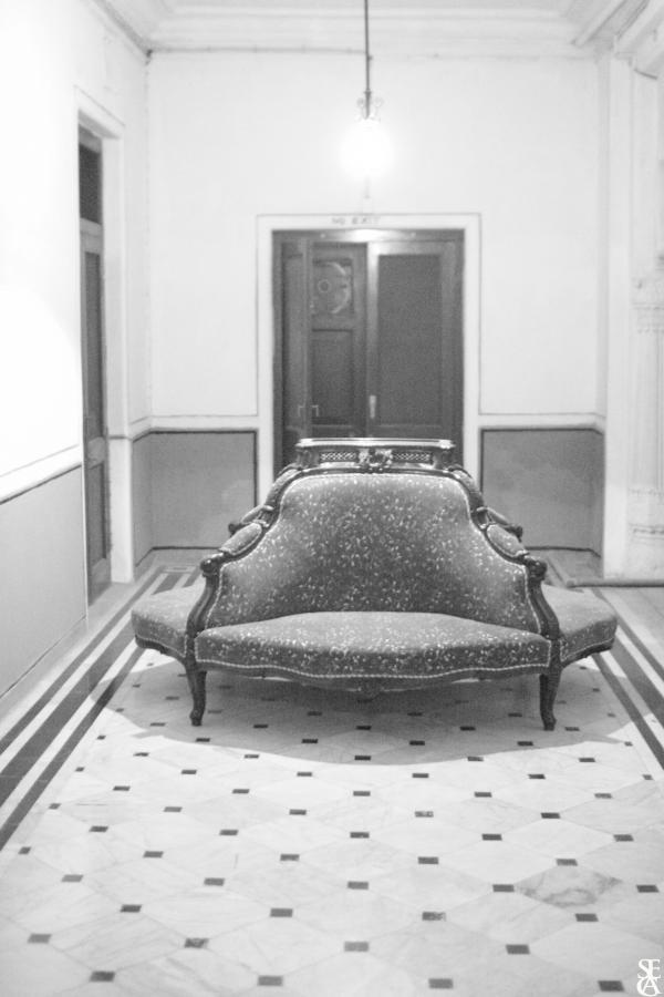 Sofa for soft conversation