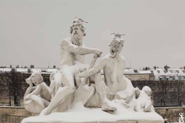 Des dieux sous la neige