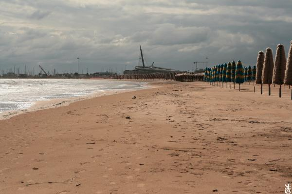 La plage de Pescara