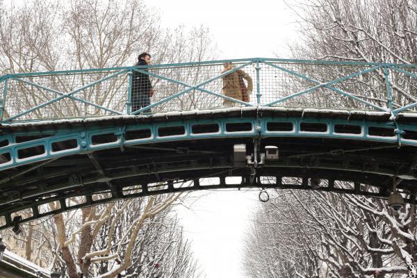 Sous le pont Saint Martin