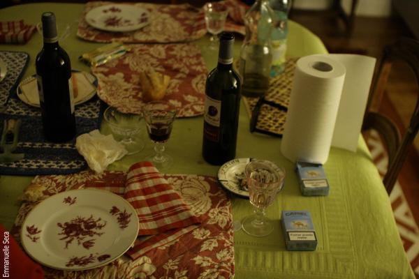 Un dîner avec Amy