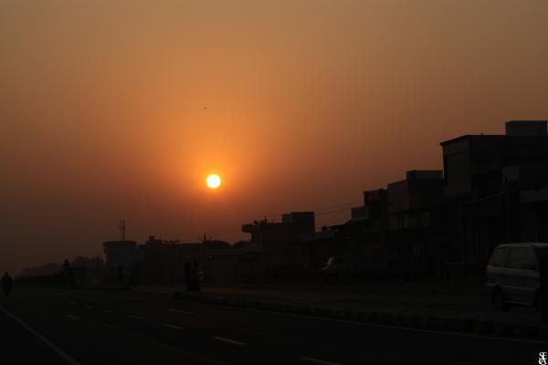 Indian Sunrise