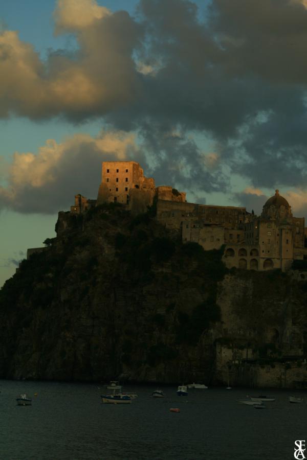 Il castello di ponte Ischia