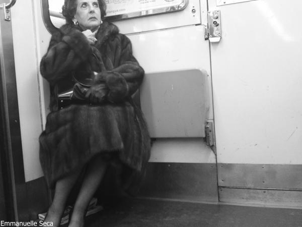 La dame élégante