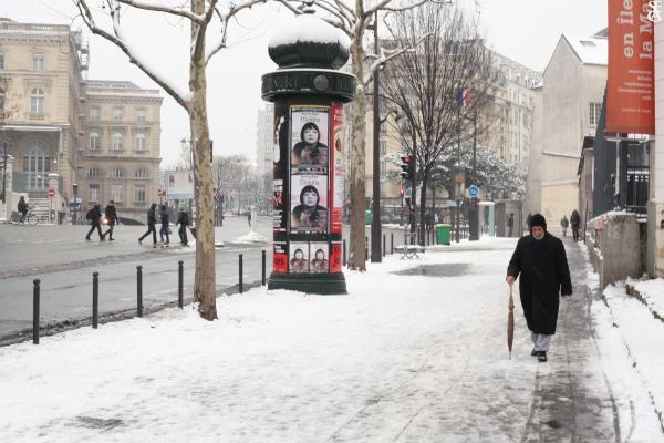 L'homme de la neige