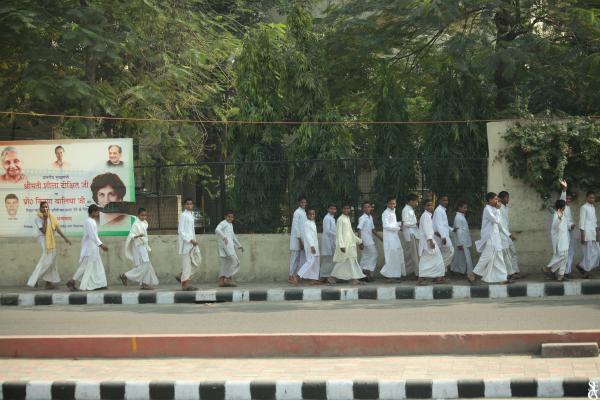 Les écoliers de Delhi