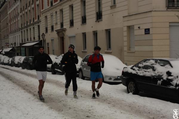 Les coureurs des neiges